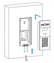 Akuvox R2X - montážní kit pro instalaci pod omítku