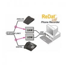 ReDat® Phone Recorder – záznam klasické telefonie