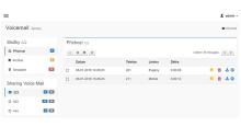 Collaboration portal - modul Hlasová pošta