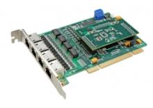 Analogová karta MG320BV6 s 8 porty FXS a 8 porty FXO.