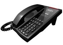 Analogový telefon s DECT základnou AEI AMT-9110-SM