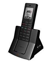 Analogový bezdrátový DECT telefon AEI  AVX-8108-SMBU