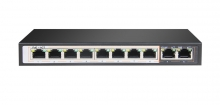 Hored  AI108 8+2 Port 10/100 Unmanaged PoE Switch