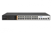 Hored PS2024G  24+4 Port 1G L3 Managed PoE Switch