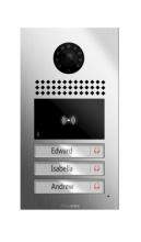 Akuvox E22 IP Video Intercom se čtečkou karet a 3 tlačítky z nerezové oceli