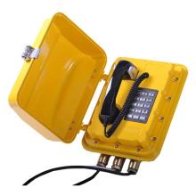 Analogový telefon do výbušného prostředí (s rozhlasem)