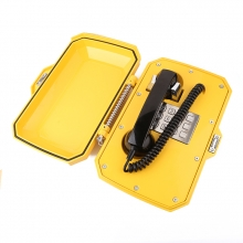 Voděodolný analogový telefon (s rozhlasem)