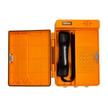 Voděodolný plastový analogový telefon (s rozhlasem)