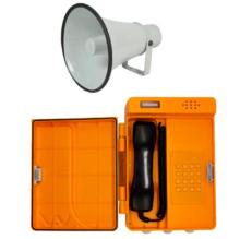 Voděodolný plastový IP telefon (s rozhlasem)