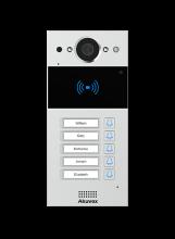 Akuvox R20B MINI IP Video Intercom se čtečkou karet a 5 tlačítky (Na/Pod omítku)