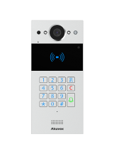Akuvox R20K MINI IP Video Intercom se čtečkou karet (Na/Pod omítku)