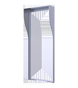 Kryt proti dešti pro R27 a R28 pro instalaci pod omítku