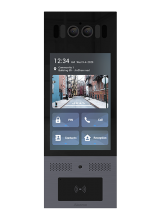 Akuvox X915 High-end Smart Android Video Intercom s FaceID