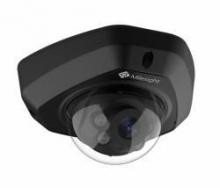 Milesight MS-C5373-PB/B venkovní IR mini dome IP kamera, 5MP, H.265, VCA, černá