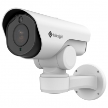 Milesight MS-C2961-EPB venkovní mini PoE PTZ bullet IP kamera, 2MP, H.265, VCA
