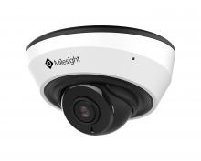 Milesight MS-C5383-PB vnitřní IR mini dome IP kamera, 5MP, H.265, VCA