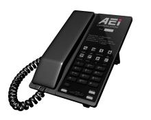 Analogový telefon s DECT základnou AEI  AVM-9108-SM