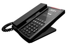 Analogový telefon s DECT základnou AEI ASP-9110-SM