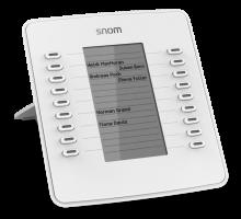 Snom D7W - rozšířující tlačítkový modul bílý