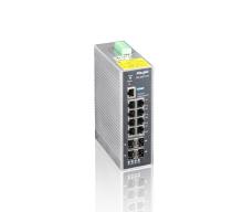 Ruijie RG-IS2712G-DC - full managed průmyslový switch 24 až 48V DC