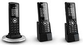 Bezdrátové telefony DECT a IP DECT systém Snom